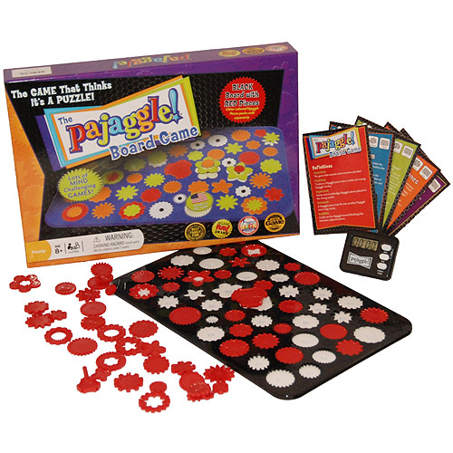 Pajaggle Board Set, Black/Red