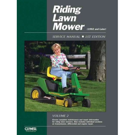 Riding Lawn Mower Service Manual 1992 And Later