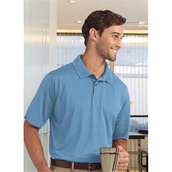Bermuda Sands 755 Mens Shadow Performance Polo - Bimini Blue, Small