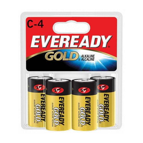 EVEREADY BATTERY C-Size Alkaline Battery