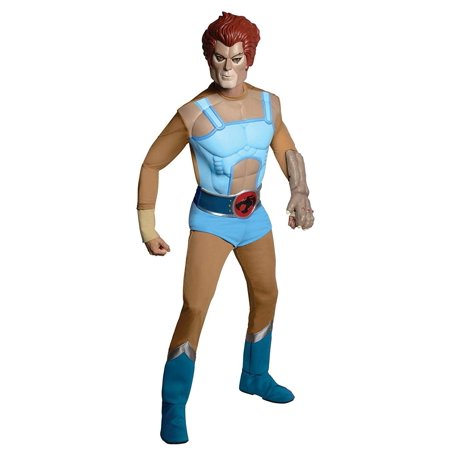Thundercats Halloween Costumes (Thundercats Deluxe Lion-O Costume Adult)