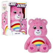 "Care Bears 14"" Plush - Cheer Bear - Soft Huggable Material!"
