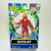 "Playmates Toys Cartoon Network Ben 10 Heatblast 5"" Action Figure"