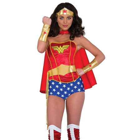 Rubies Marvel Wonder Woman Costume Kit Adult One Size (Wonder Woman Adult Costume)