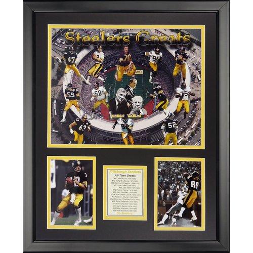 Legends Never Die NFL Pittsburgh Steelers - Steeler Greats Framed Memorabili
