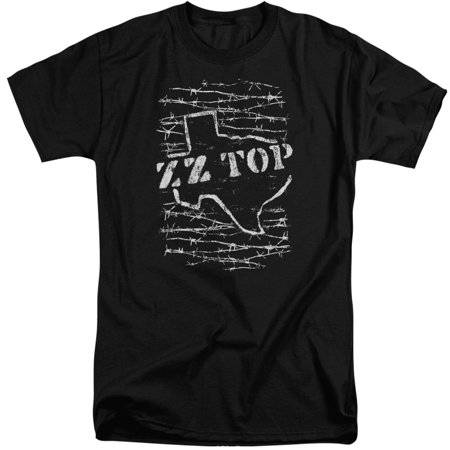 Zz Top Barbed Mens Adult Big And Tall Shirt