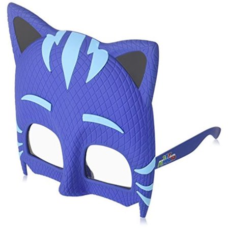 Instant Costume Sunglasses, PJ Masks Cat Boy, Blue](Peewee Herman Costume)