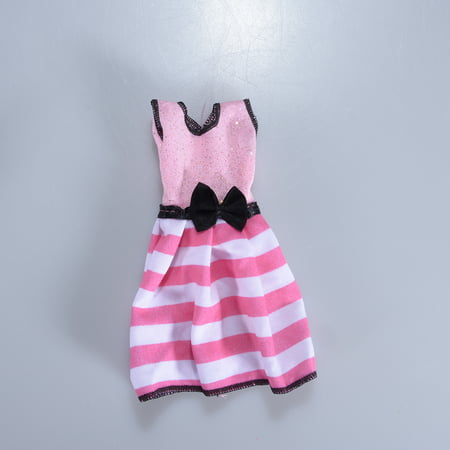 Style One Piece Dress - Doll's Fashionable Clothing Set Casual One-piece Dress for Doll Random Style