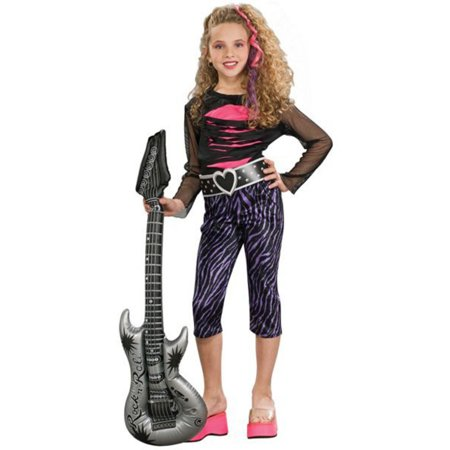 80s Rock Star Child Costume for $<!---->