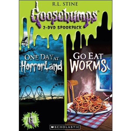 Goosebumps: One Day At HorrorLand / Go Eat Worms! (Double Feature) (Full