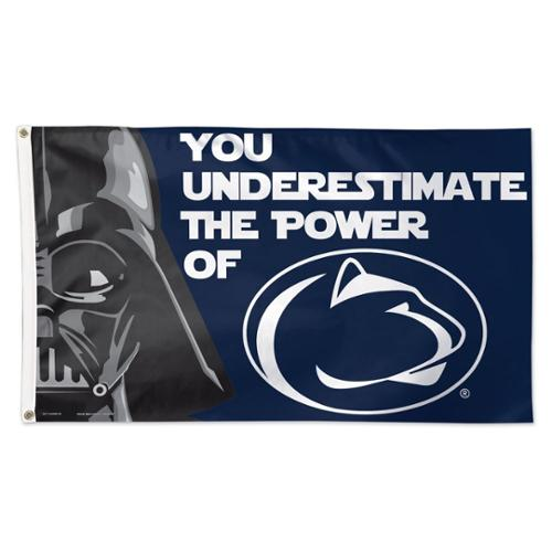 Penn State Nittany Lions Official NCAA 3'x5' Star Wars Darth Vader Banner Flag by Wincraft