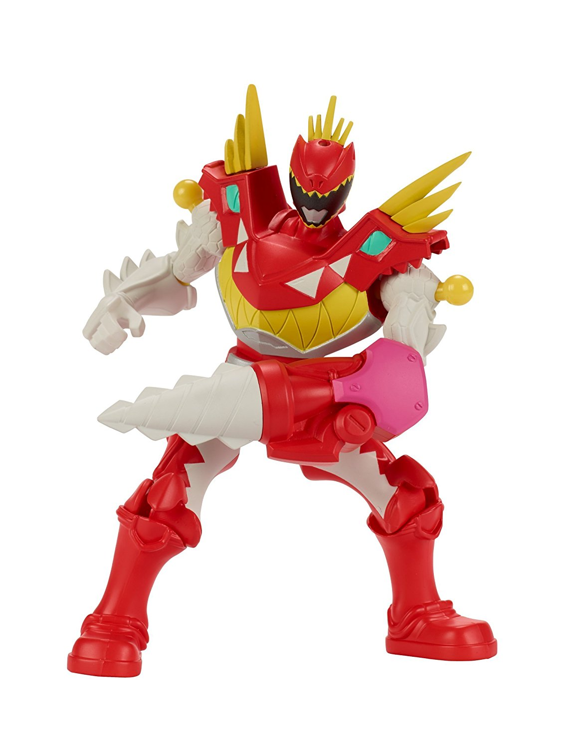 - Mixx N Morph Dino Charge T-Rex Super Charge Red Ranger Action Figure, Take down evil... by