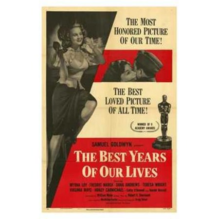 Posterazzi MOV205356 Best Years of Our Lives Movie Poster - 11 x 17 (Days Of Our Lives 8 28 17)