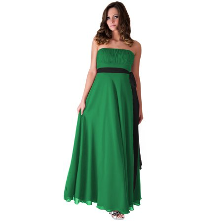 Formal Dress Long Evening Gown Bridesmaid Wedding Party Prom  XS - 2XL - L,Kelly (Best Shapewear For Wedding Gown)