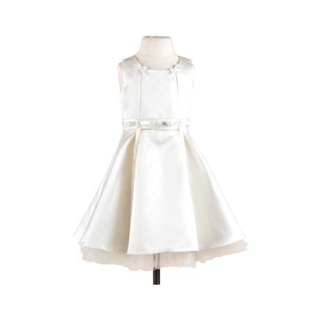 Spectacular Girl Dress - Efavormart Spectacular Taffeta Silk Flower Girl Dress Birthday Girl Dress Junior Flower Girl Wedding Party Gown Girls Dress