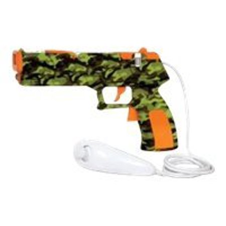 dreamGEAR Quick Shot Plus Camo for Wii - Accessory kit - for NINTENDO Wii Remote, Wii Remote Plus, Wii Remote with Wii MotionPlus