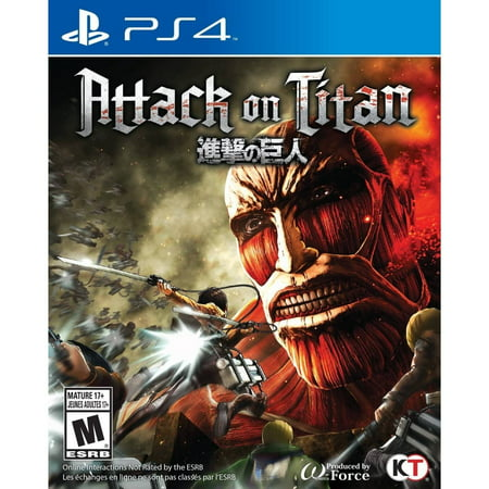 Image of Attack on Titan - PlayStation 4