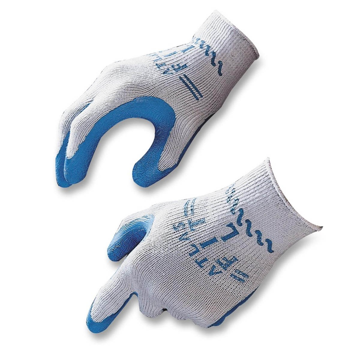 Extra-Thick Rubber Palm Work Gloves, X-Large - (1 Pair)