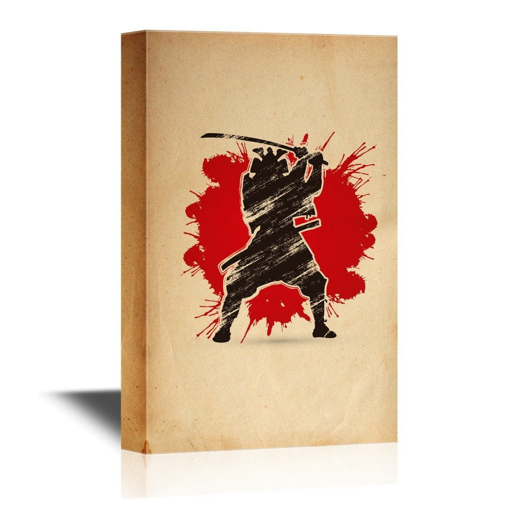 wall26 Japanese Culture Canvas Wall Art - Traditional Japanese Woman ...