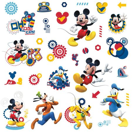 Fan Club Sticker - Mickey Mouse Clubhouse CAPERS 31 Wall Decals Donald Pluto Disney Room Stickers