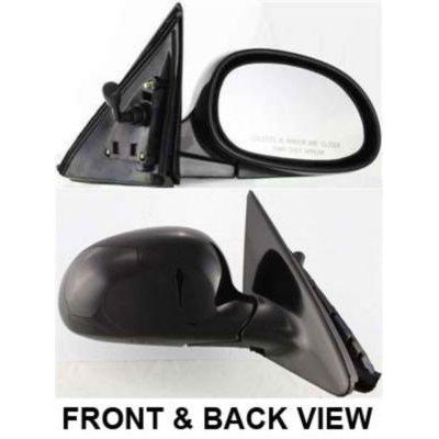kool vue ho16r mirror corner mount type passenger side rh plastic primered manual remote folding