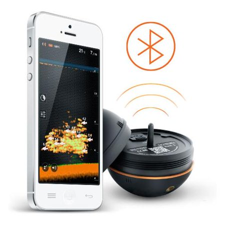 Deeper smart portable fish finder for Fish finder walmart