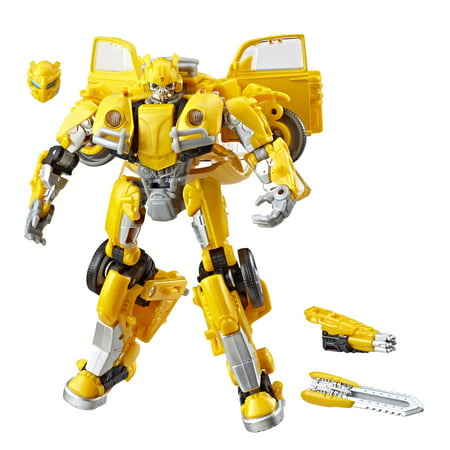 Transformers Studio Series 18 Deluxe Transformers: Bumblebee -- Bumblebee - Bumblebee Costume Transforms Into Car