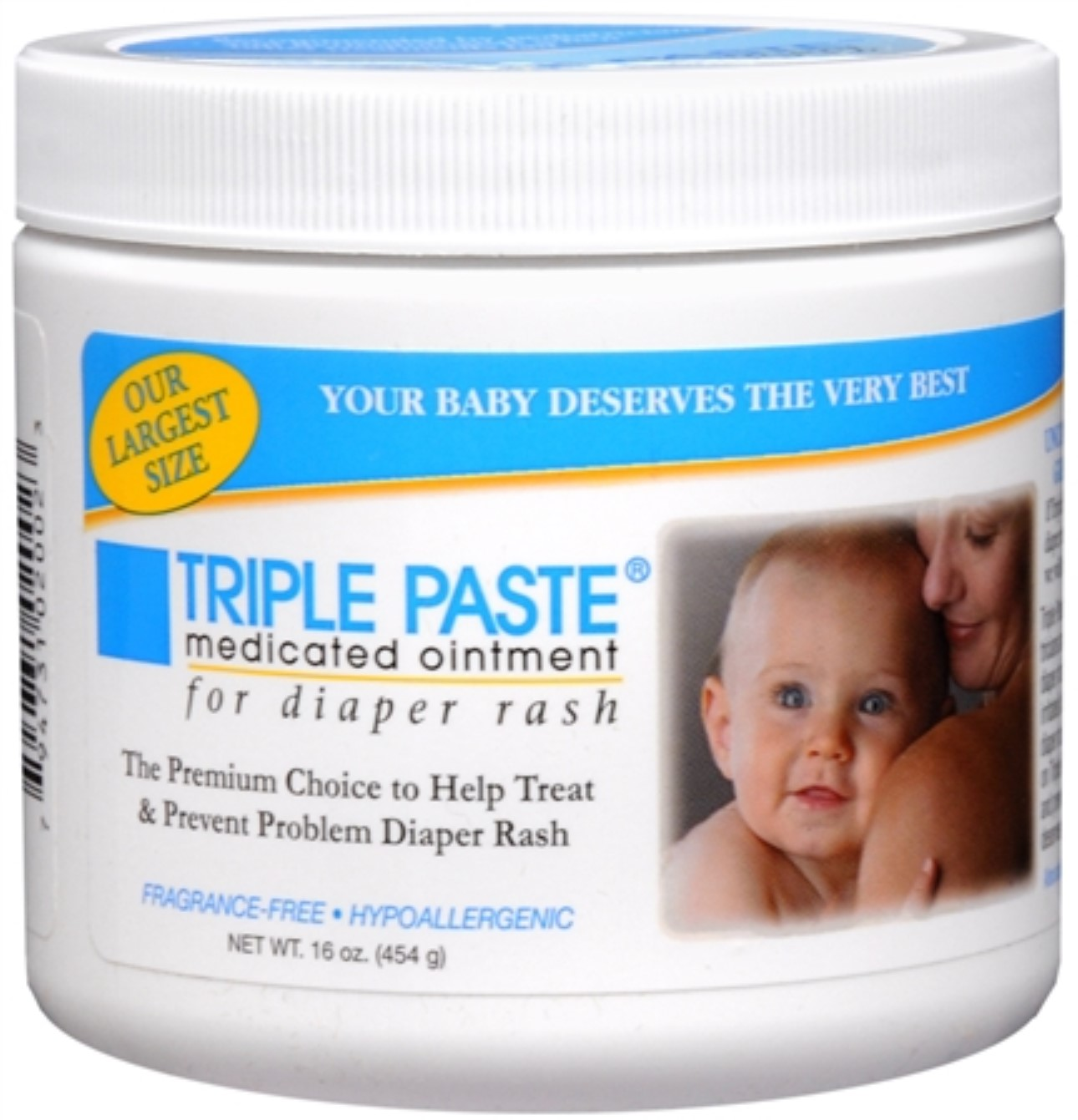 Triple Paste Medicated Ointment 16 oz [1 LB] (Pack of 2)