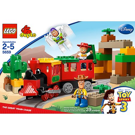 Lego duplo toy story 3 the great train chase - Lego toys story ...