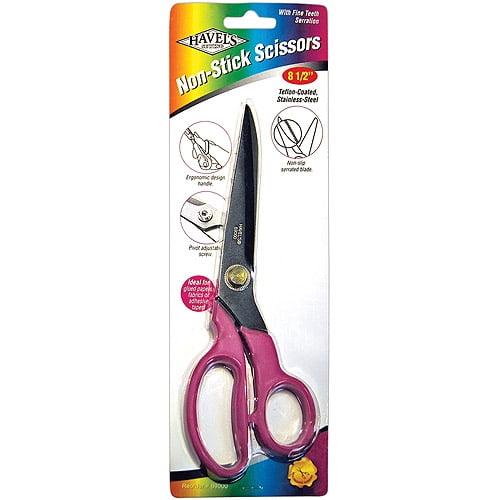 "Havel's Teflon-Coated Non-Stick Scissors, 8-1/2"", Pink"