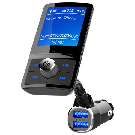 Bluetooth FM Transmitter, Jelly Comb 1.8
