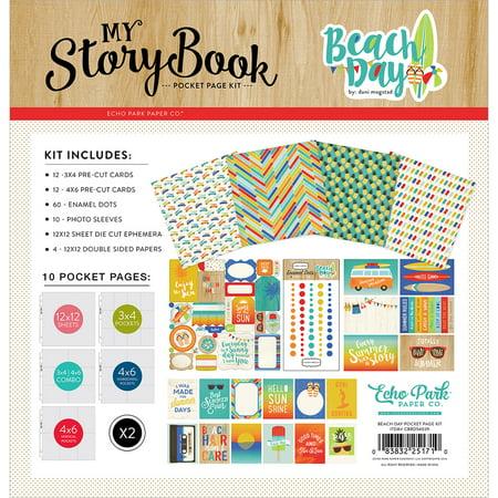 Carta Bella My Story Book Pocket Page Kit 12
