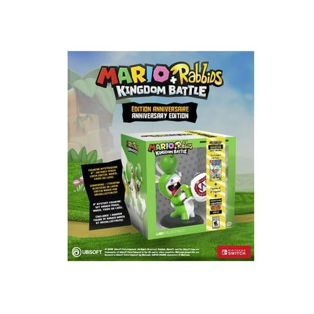 Ubisoft Mario + Rabbids Kingdom Battle Anniversary Edition (Nintendo Switch) (Includes 1 Random Figure) - image 1 of 1
