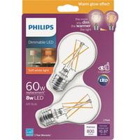 Philips Warm Glow A19 Medium Dimmable LED Light Bulb