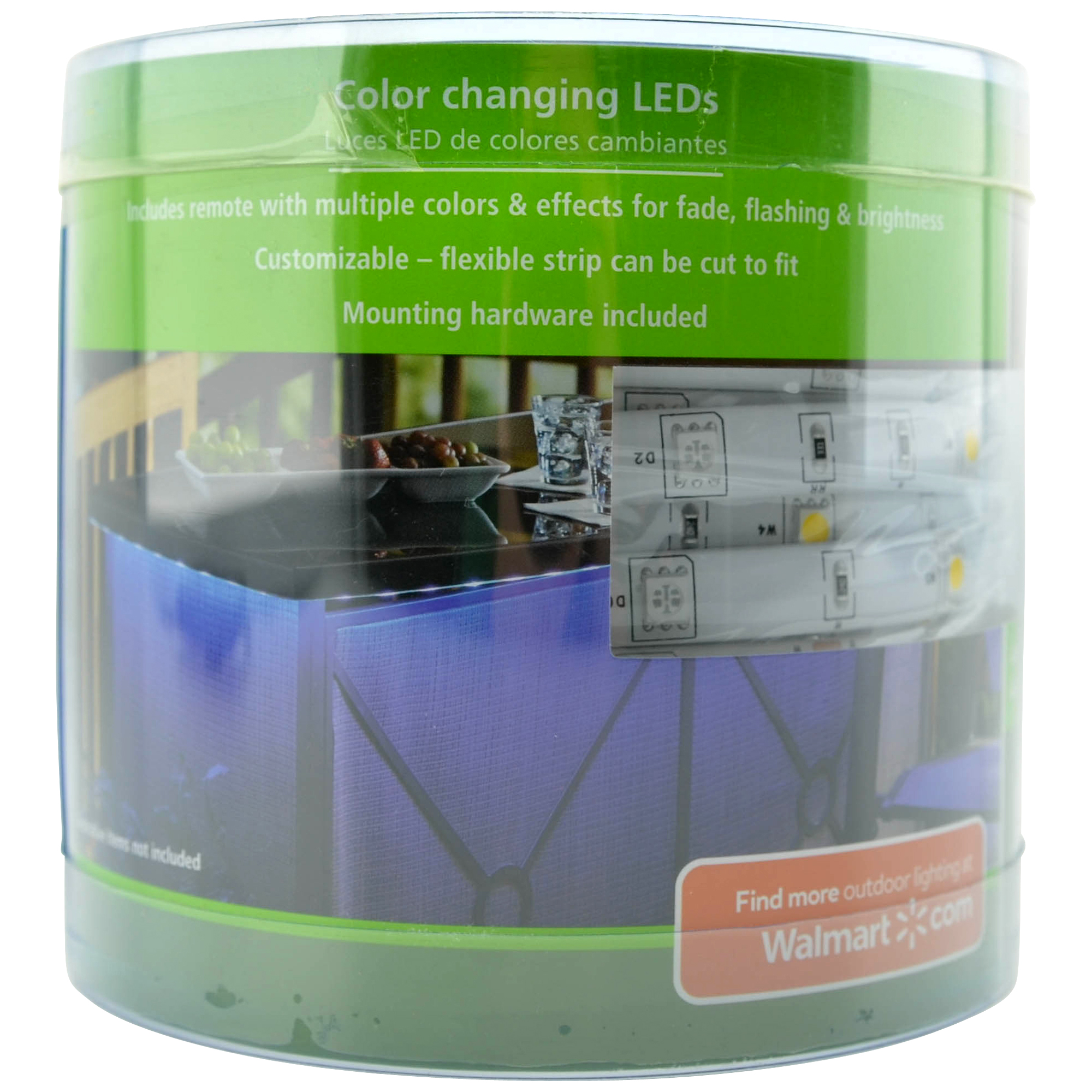 Mainstays Color Changing LED Tape Light with Remote