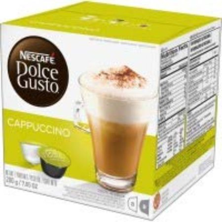 Nescafe Dolce Gusto Cappuccino Coffee, 16 Count