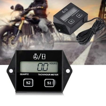 Tachometer Hour Meter Motorcycle 2 4 Stroke Gasoline Engine For