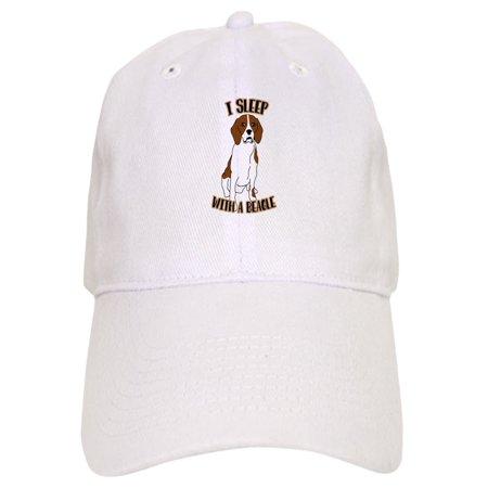 CafePress - I Sleep With Beagles - Printed Adjustable Baseball Cap