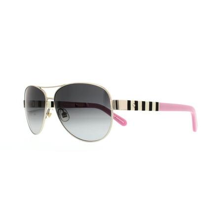 Kate Spade Sunglasses Dalia S 0Yb7 Silver 58Mm