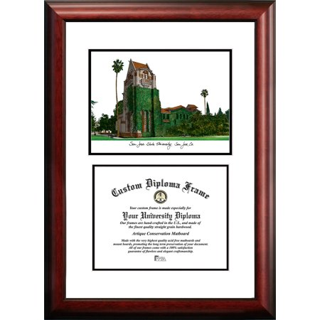 "San Jose State University 8.5"" x 11"" Scholar Diploma Frame"