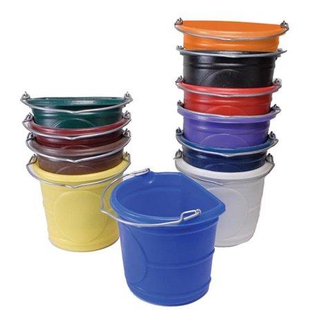 Horsemens Pride 1161-PU Flat Back Water Bucket, Purple - 20 qt.    Walmart Canada