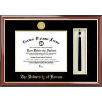 "University of Kansas 8.5"" x 11"" Tassel Box and Diploma Frame"