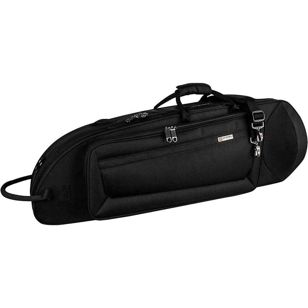Protec IPAC Series Contoured Tenor Trombone Case Black by Protec
