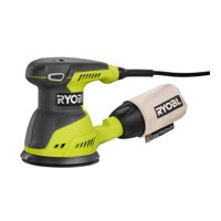 Ryobi 2.6-Amp 5-Inch Random Orbit Sander Includes Sander Sandpaper Assortment