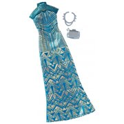 Barbie Complete Look Fashion Pack - Geometric Lace Long Dress