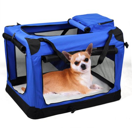 Yaheetech Large Travel Kennel Portable Crate Soft Dog Big