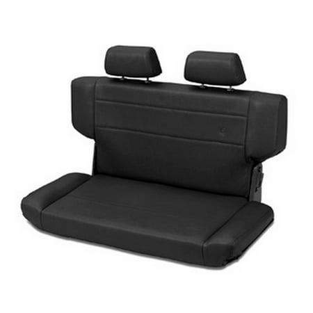 Bestop Trailmax II Trailmax II F & T Bench Seat, Rear, all vinyl