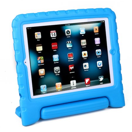 HDE iPad 2 3 4 Case for Kids - Rugged Heavy Duty Drop Proof Children Toy Protective Shockproof Cover Handle Stand for Apple iPad 2 3 4 (Best Kid Proof Ipad Case)