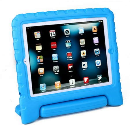 HDE iPad 2 3 4 Case for Kids - Rugged Heavy Duty Drop Proof Children Toy Protective Shockproof Cover Handle Stand for Apple iPad 2 3 4