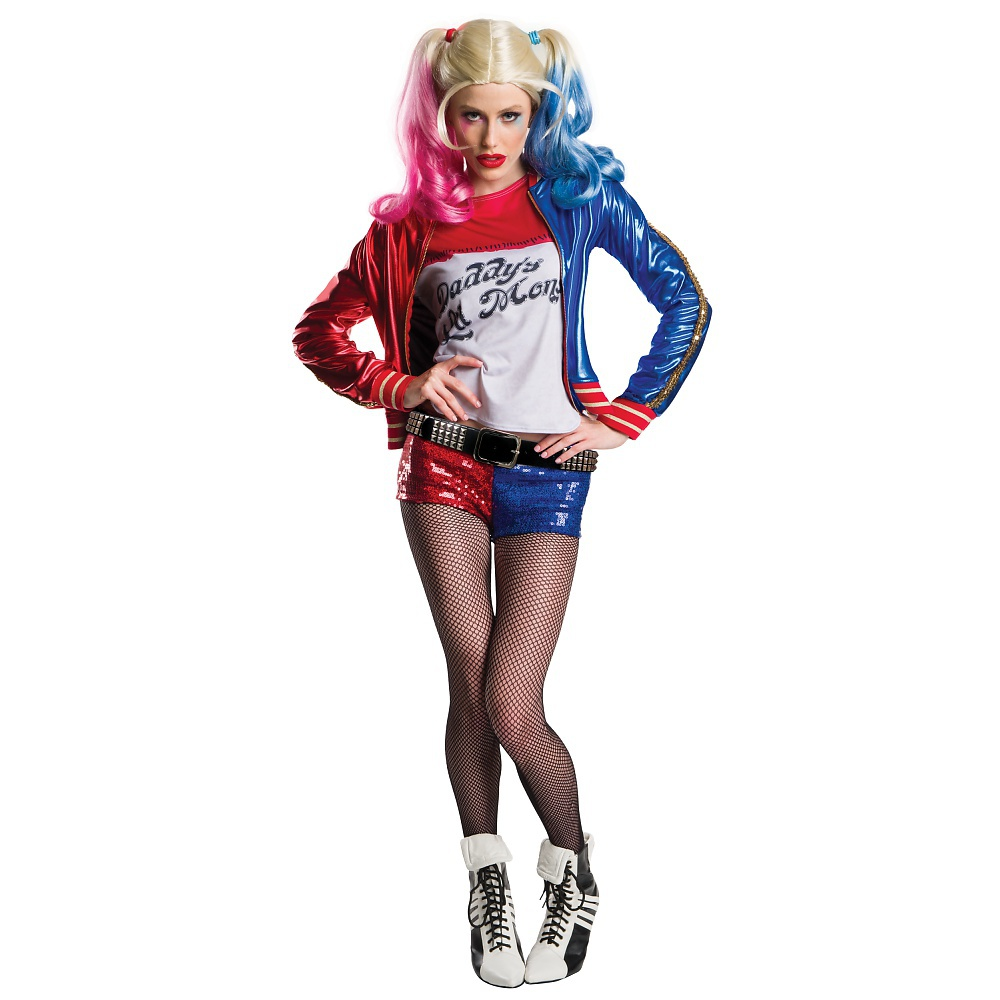 Super Deluxe Harley Quinn Adult Costume - Large